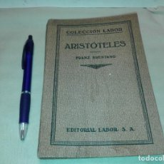 Libros antiguos: ARISTOTELES 1930, FRANZ BRENTANO. Lote 145863118