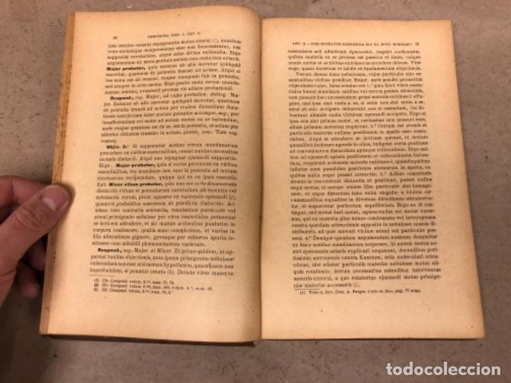 Libros antiguos: COMPENDIUM PHILOSOPHIÆ SCHOLASTICÆ. JOANNE JOSEPHO URRÁBURU. VOLUMEN V, THEODICEA. EDITADO 1904. - Foto 5 - 146267818