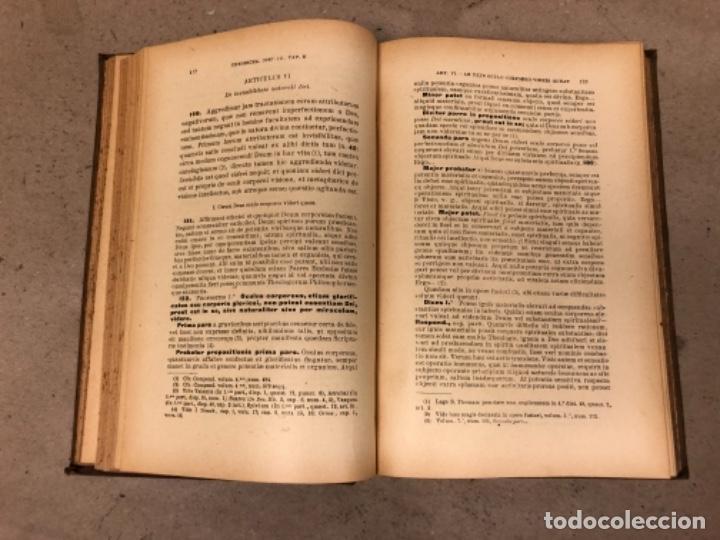 Libros antiguos: COMPENDIUM PHILOSOPHIÆ SCHOLASTICÆ. JOANNE JOSEPHO URRÁBURU. VOLUMEN V, THEODICEA. EDITADO 1904. - Foto 6 - 146267818