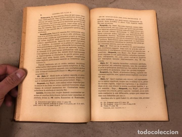 Libros antiguos: COMPENDIUM PHILOSOPHIÆ SCHOLASTICÆ. JOANNE JOSEPHO URRÁBURU. VOLUMEN V, THEODICEA. EDITADO 1904. - Foto 7 - 146267818
