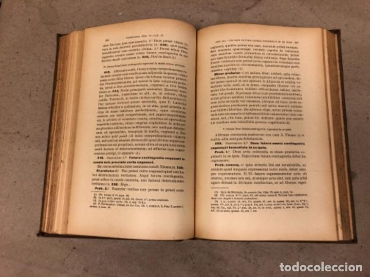 Libros antiguos: COMPENDIUM PHILOSOPHIÆ SCHOLASTICÆ. JOANNE JOSEPHO URRÁBURU. VOLUMEN V, THEODICEA. EDITADO 1904. - Foto 8 - 146267818