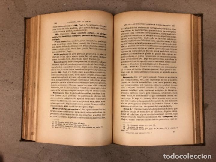 Libros antiguos: COMPENDIUM PHILOSOPHIÆ SCHOLASTICÆ. JOANNE JOSEPHO URRÁBURU. VOLUMEN V, THEODICEA. EDITADO 1904. - Foto 9 - 146267818