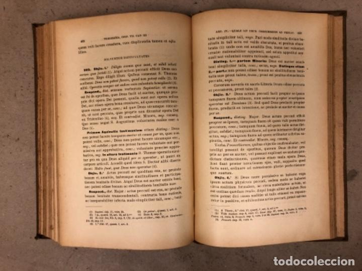 Libros antiguos: COMPENDIUM PHILOSOPHIÆ SCHOLASTICÆ. JOANNE JOSEPHO URRÁBURU. VOLUMEN V, THEODICEA. EDITADO 1904. - Foto 10 - 146267818