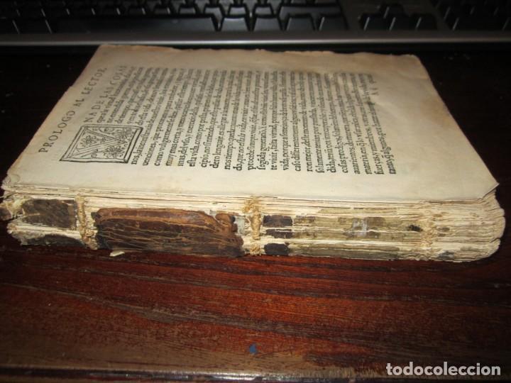 Libros antiguos: Post incunable Primera parte de las sentencias por diversos autores escriptas 1554 - Joya colección - Foto 3 - 146688410