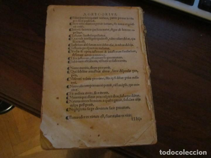 Libros antiguos: Post incunable Primera parte de las sentencias por diversos autores escriptas 1554 - Joya colección - Foto 5 - 146688410