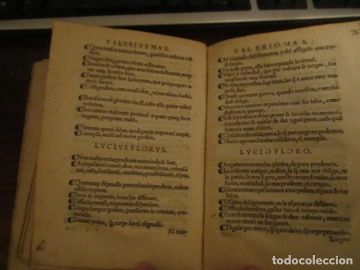 Libros antiguos: Post incunable Primera parte de las sentencias por diversos autores escriptas 1554 - Joya colección - Foto 17 - 146688410