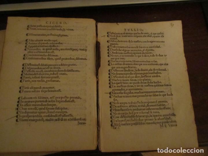 Libros antiguos: Post incunable Primera parte de las sentencias por diversos autores escriptas 1554 - Joya colección - Foto 19 - 146688410