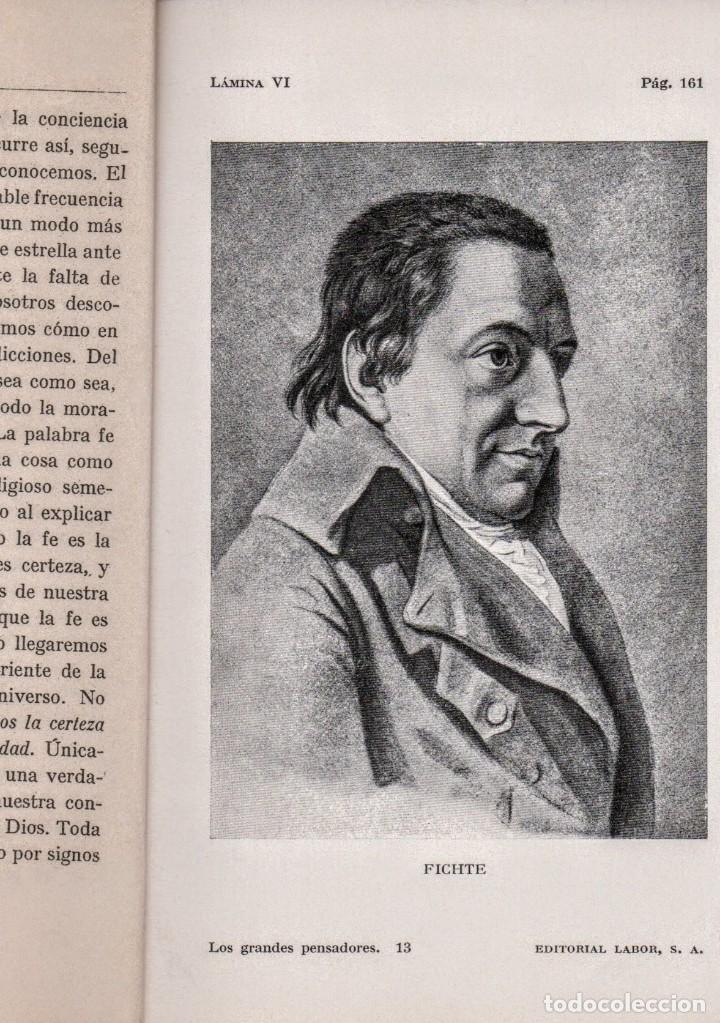 Libros antiguos: Los grandes pensadores.J. Cohn. Colección Labor. - Foto 3 - 146732718