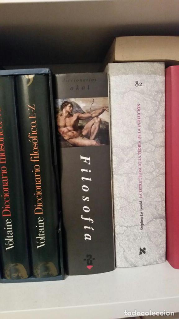 Libros antiguos: Diccionario Akal de Filosofía - Foto 2 - 147776498
