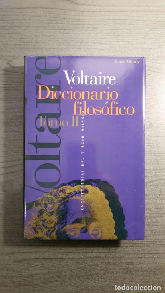 VOLTAIRE - DICCIONARIO FILOSÓFICO (Libros Antiguos, Raros y Curiosos - Pensamiento - Filosofía)