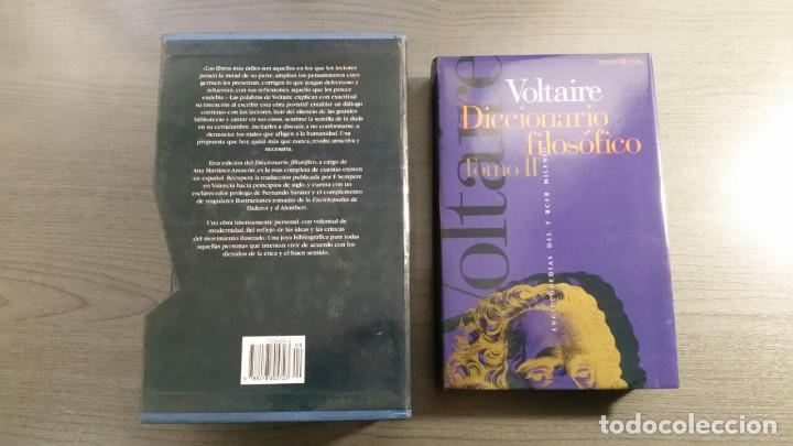 Libros antiguos: Voltaire - Diccionario filosófico - Foto 3 - 147776938