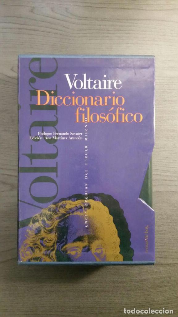 Libros antiguos: Voltaire - Diccionario filosófico - Foto 9 - 147776938