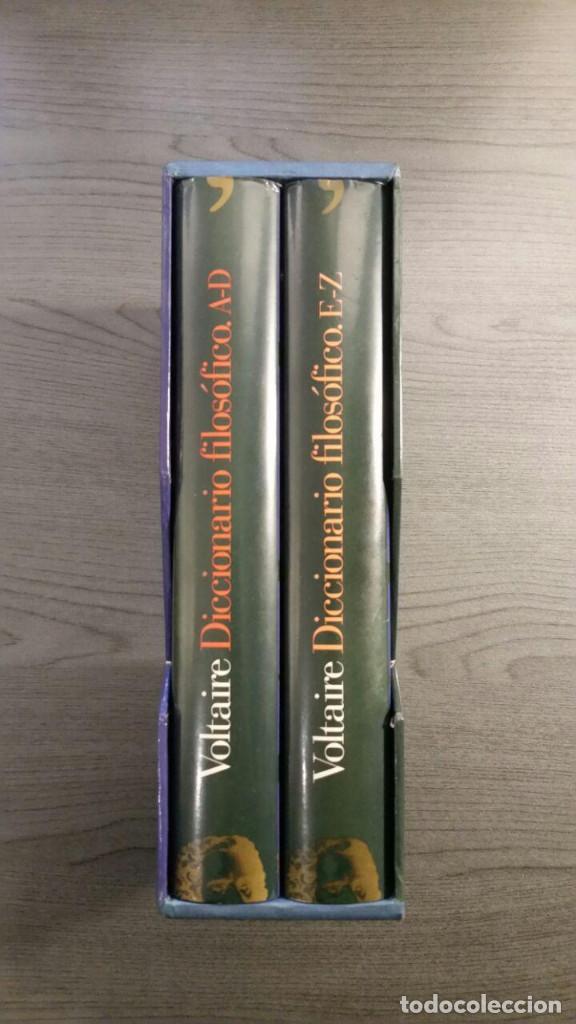 Libros antiguos: Voltaire - Diccionario filosófico - Foto 11 - 147776938
