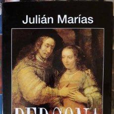 Libros antiguos: JULIÁN MARÍAS . PERSONA. Lote 147788006
