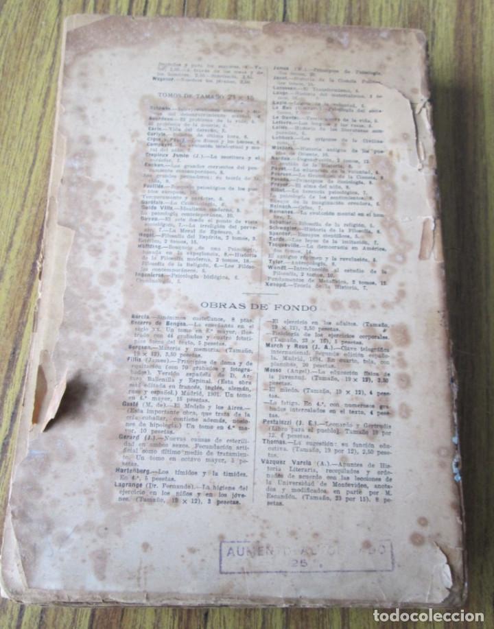 Libros antiguos: LOS GRANDES PENSADORES SU TEORÍA DE LA VIDA - Por Rodolfo Eucken 1914 - Foto 3 - 149501862