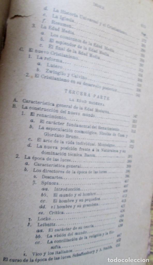 Libros antiguos: LOS GRANDES PENSADORES SU TEORÍA DE LA VIDA - Por Rodolfo Eucken 1914 - Foto 6 - 149501862