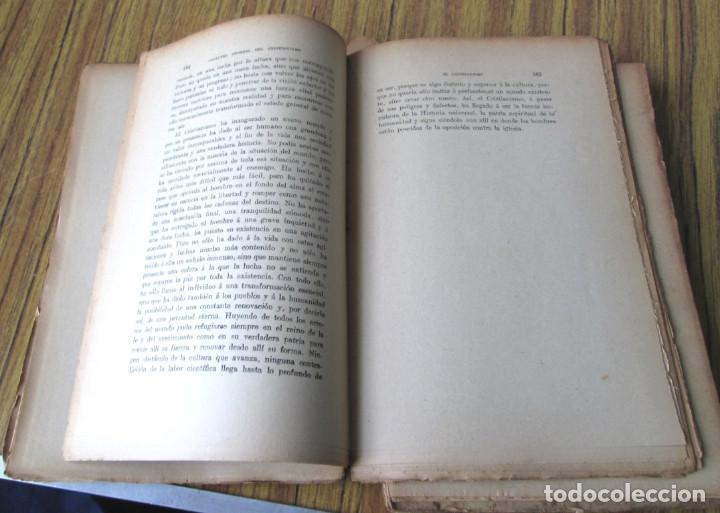 Libros antiguos: LOS GRANDES PENSADORES SU TEORÍA DE LA VIDA - Por Rodolfo Eucken 1914 - Foto 9 - 149501862