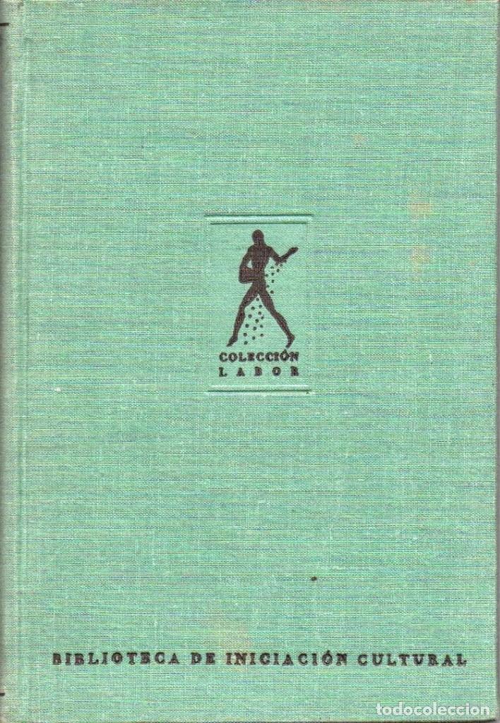Libros antiguos: Los grandes pensadores.J. Cohn. Colección Labor. - Foto 2 - 146732718