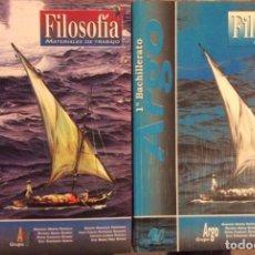 Libros antiguos: FILOSOFÍA 1 BACHILLERATO. GRUPO ARGO. Lote 151149846
