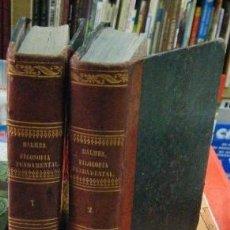 Libros antiguos: FILOSOFÍA FUNDAMENTAL. 2 TOMOS. BALMES,JAIME. A-FIL-863. Lote 151243026