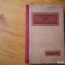 Libros antiguos: CURSO DE FILOSOFÍA ELEMENTAL DON JAIME BALMES . Lote 151713358
