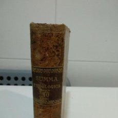 Libros antiguos: SUMMA TOTIUS THEOLOGIAE SANCTI THOMAE AQUINATIS . Lote 152126430