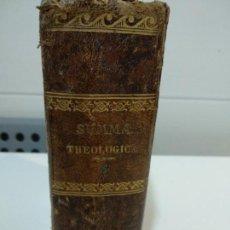 Libros antiguos: SUMMA TOTIUS THEOLOGIAE SANCTI AQUINATIS THOMAE. Lote 152131674