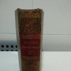 Libros antiguos: SUMMA TOTIUS THEOLOGIAE SANCTI AQUINATIS THOMAE. Lote 152132378