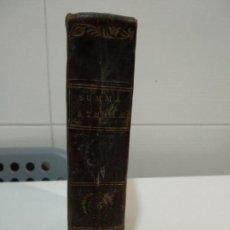 Libros antiguos: SUMMA TOTIUS THEOLOGIAE SANCTI AQUINATIS THOMAE 1791. Lote 152134886