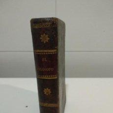 Libros antiguos: EL FILOSOFO HECHO CRISTIANO POR LA CONTEMPLACION DE LA NATURALEZA,. Lote 152273530