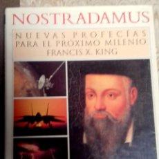 Libros antiguos: NOSTRADAMUS, NUEVAS PROFECIAS PARA EL NUEVO MILENIO. Lote 155805678