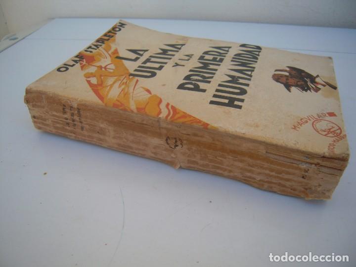 Libros antiguos: la ultima y la primera humanidad olaf stapleton - Foto 2 - 159897790