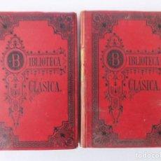 Libros antiguos: LIBRERIA GHOTICA. RARA EDICIÓN DE LA REPÚBLICA DE PLATON DEL SIGLO XIX. 2 TOMOS.1886.. Lote 161379506