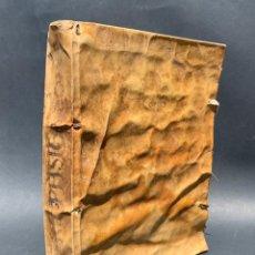 Libros antiguos: XVIII - LIBRO MANUSCRITO - 250 PÁGINAS - PHYSICA ABS AD MENTE DRS ACI COCINAA. Lote 161379922