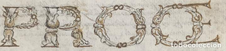 Libros antiguos: XVIII - Libro Manuscrito - 250 páginas - Physica abs ad Mente Drs Aci Cocinaa - Foto 3 - 161379922