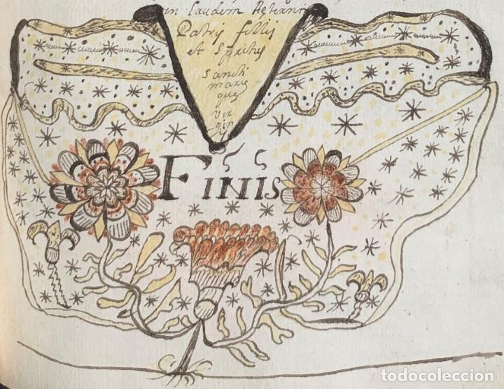 Libros antiguos: XVIII - Libro Manuscrito - 250 páginas - Physica abs ad Mente Drs Aci Cocinaa - Foto 7 - 161379922