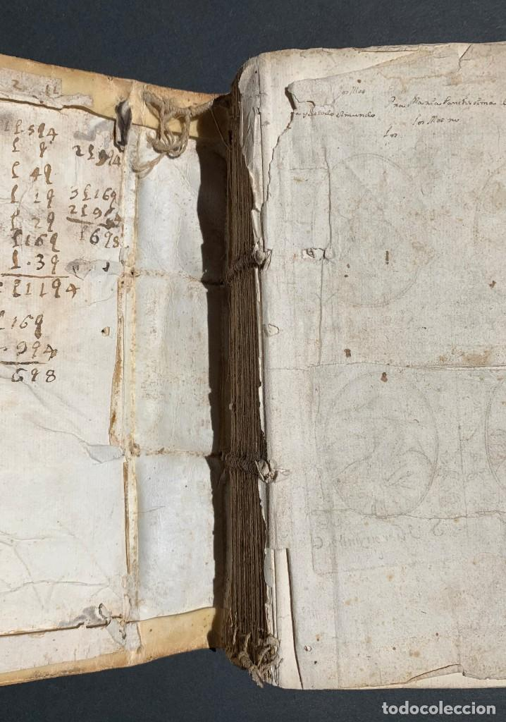 Libros antiguos: XVIII - Libro Manuscrito - 250 páginas - Physica abs ad Mente Drs Aci Cocinaa - Foto 12 - 161379922