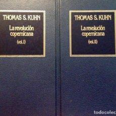 Libros antiguos: LA REVOLUCIÓN COPERNICANA, THOMÁS S. KUHN, 2 TOMOS. Lote 161559882