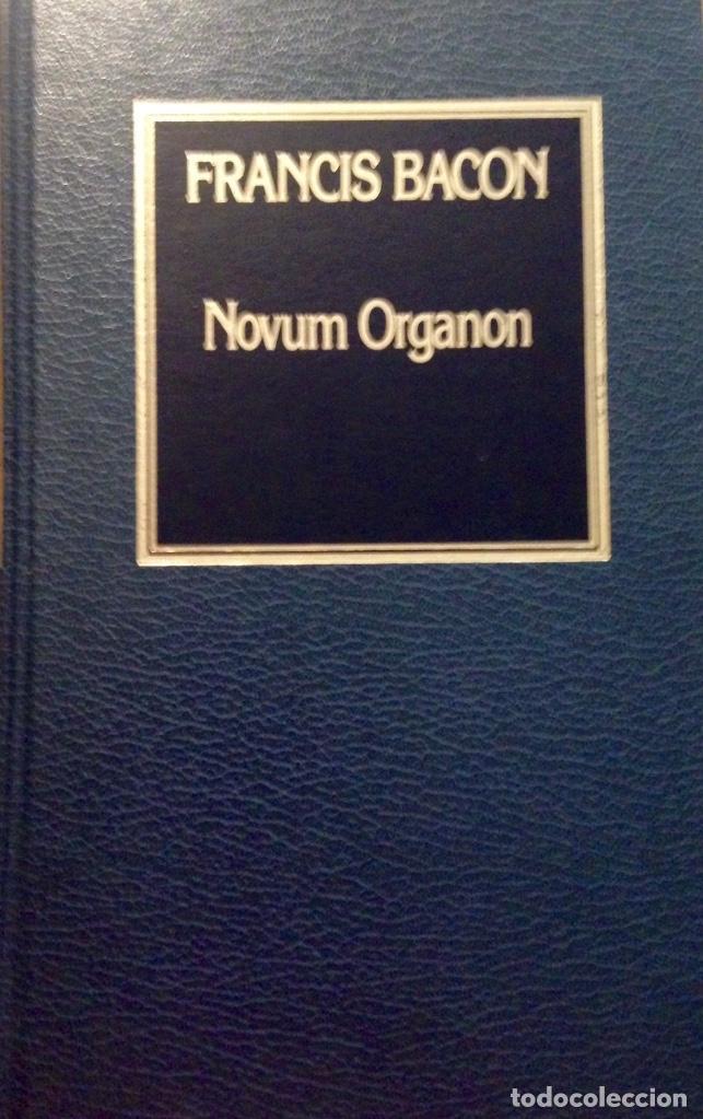 NOVUM ORGANON, FRANCIS BACON (Libros Antiguos, Raros y Curiosos - Pensamiento - Filosofía)