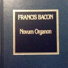 Libros antiguos: NOVUM ORGANON, FRANCIS BACON. Lote 161560954