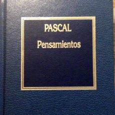 Libros antiguos: PENSAMIENTOS, PASCAL. Lote 161561846