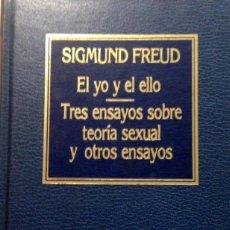 Libros antiguos: EL YO Y EL ELLO, TRES ENSAYOS SOBRE TEORÍA SEXUAL Y OTROS ENSAYOS, S. FREUD. Lote 161562934