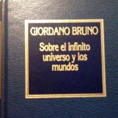 Libros antiguos: SOBRE EL INFINITO UNIVERSO Y LOS MUNDOS, GIORDANO BRUNO. Lote 161563166