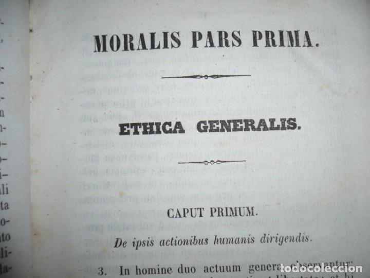 Libros antiguos: ELEMENTA PHILOSOPHIAE ADOLESCENTUM USIBUS GERVASIO COSTA 1854 VICI - Foto 5 - 161727266