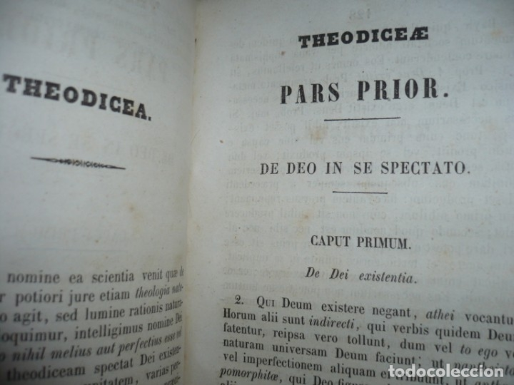 Libros antiguos: ELEMENTA PHILOSOPHIAE ADOLESCENTUM USIBUS GERVASIO COSTA 1854 VICI - Foto 9 - 161727266