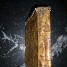 Libros antiguos: CURSUS PHILOSOPHICO SECUNDA PARS LUDOVICO DE LOSSADA 1749 SALMANTICAE . Lote 161962966