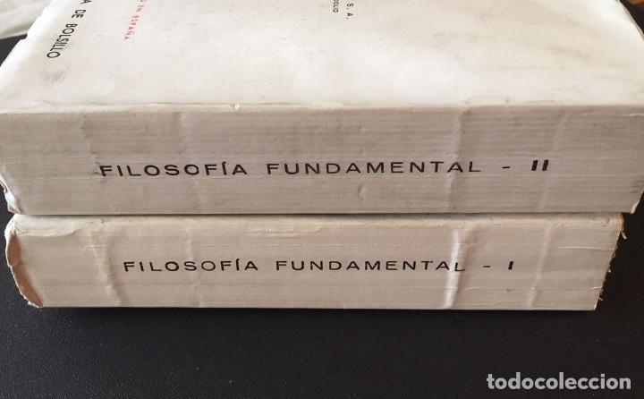 Libros antiguos: Filosofía Fundamental, de Jaime Balmes, 2 tomos - Foto 4 - 162484658