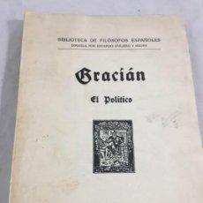 Libros antiguos: FRACIÁN EL POLÍTICO DON FERNANDO EL CATÓLICO, GRAFICAS REUNIDAS 1934, BIBLIOTECA FILÓSOFOS ESPAÑOLES. Lote 165585762