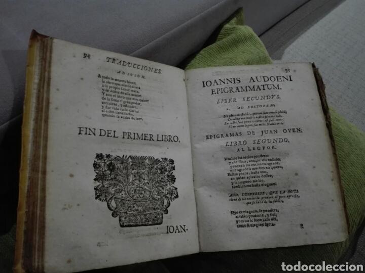 Libros antiguos: 1721. Pergamino. AGUDEZAS DE JUAN OVEN. Jhon Owen. - Foto 6 - 168129294
