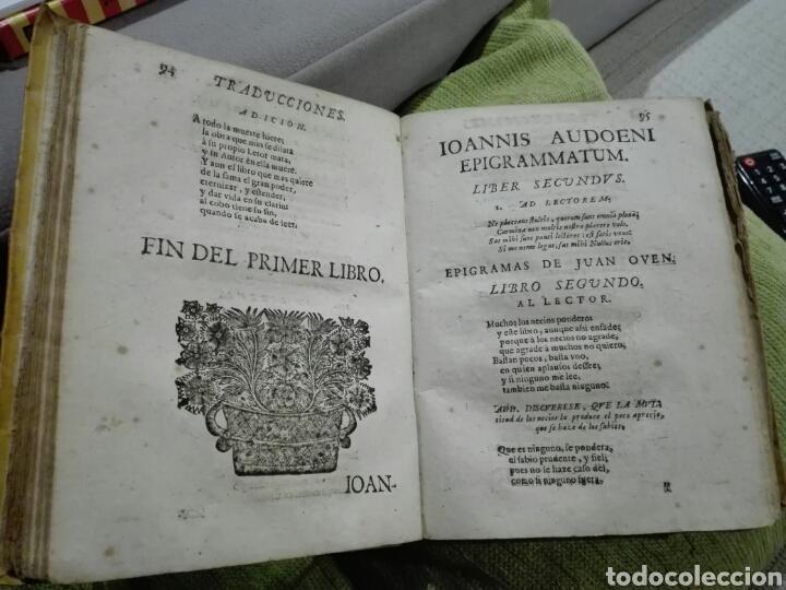 Libros antiguos: 1721. Pergamino. AGUDEZAS DE JUAN OVEN. Jhon Owen. - Foto 7 - 168129294